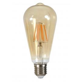 Bombilla Led Edison Filamentos E27 6W
