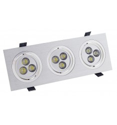 Empotrable Led Alu New 3l