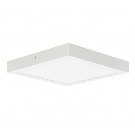 Plafón Superficie Led Aries cuadrado 18w 22,5 cm