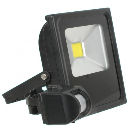 FOCO EXT. LED 20W 4500K SENSOR