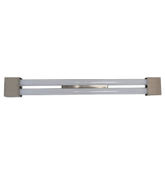 PLAFON TUB LED SQUARE 9W x2 60CM