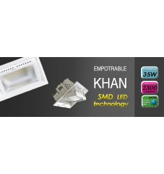 Proyector Encastrable Led Khan Rectangular 30W