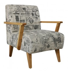 SILLON CANNES ESTAMPADO