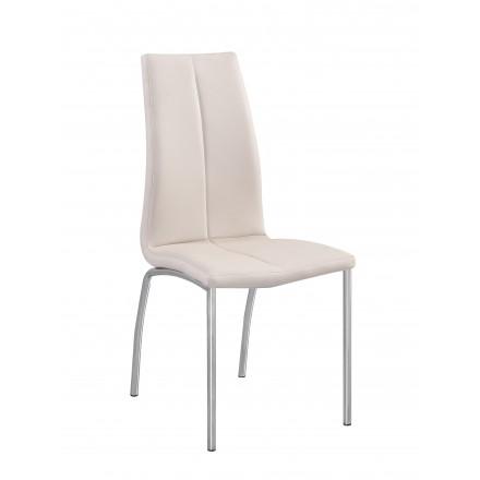 silla azuki blanca
