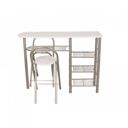 TABLA OFFICE + 2 TABURETES