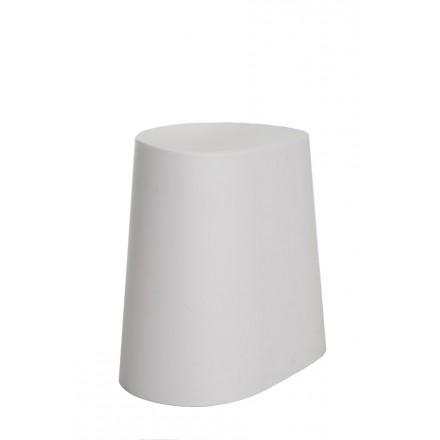 TABURETE PVC STYLE BLANCO