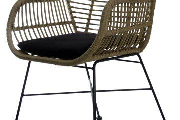sillón/ silla mimbre